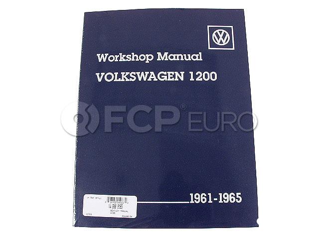 VW Repair Manual - Robert Bentley VW8000165