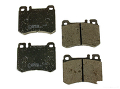 Mercedes Brake Pad Set - Pagid 0014208520