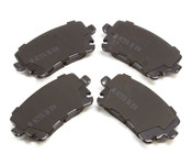 Audi VW Brake Pad Set - Akebono EUR1018