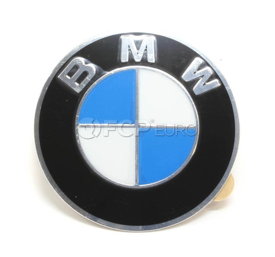 BMW Wheel Center Cap Emblem - Genuine BMW 36136767550