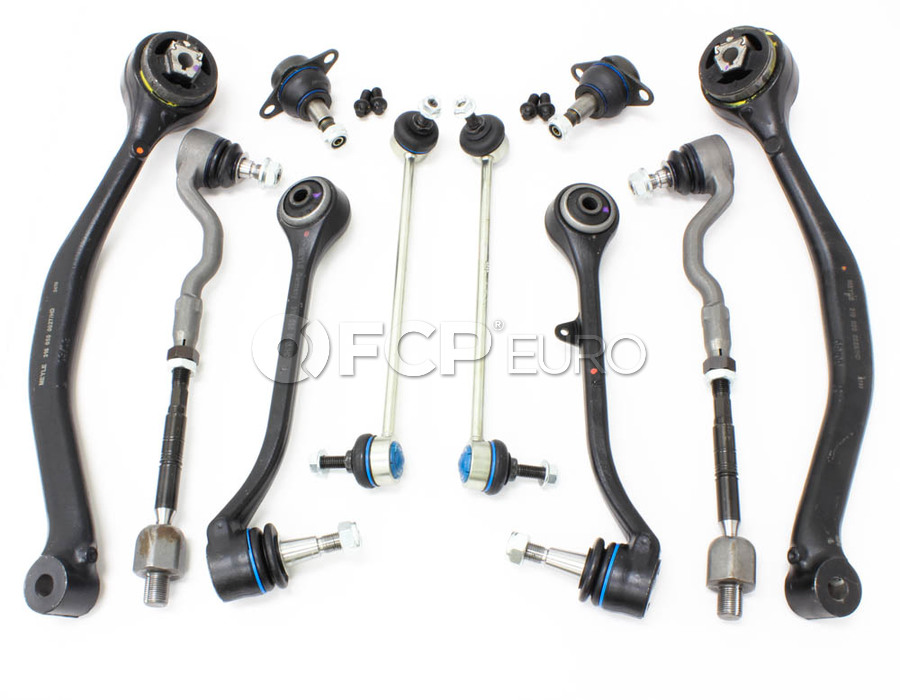 BMW 10-Piece Control Arm Kit - X3CAKITFULL-MY
