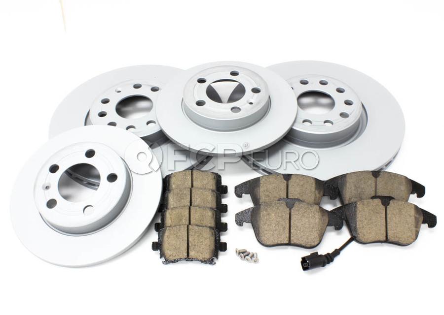 VW Brake Kit - Zimmermann/Akebono 420721