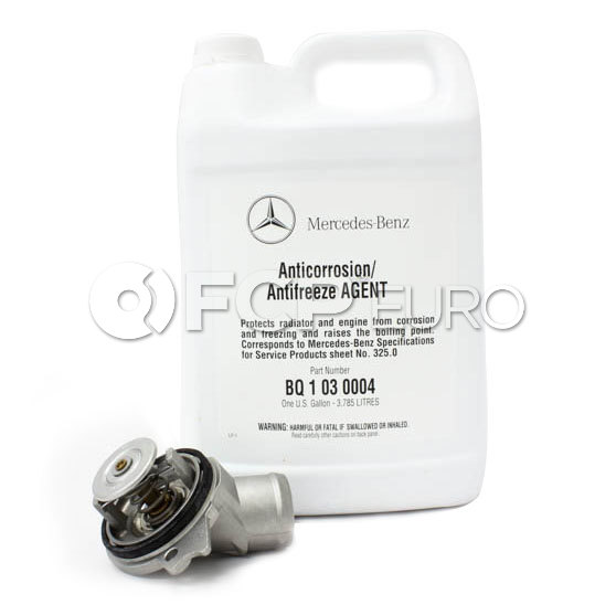 Mercedes Thermostat Kit (M112 M113) - Borg Warner / Wahler M112113TK