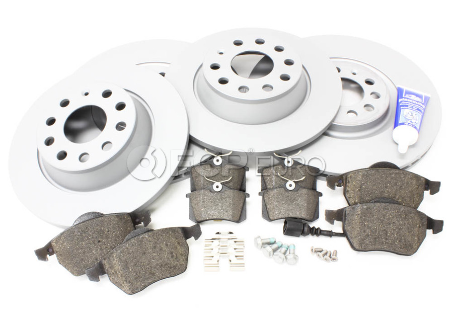 Audi VW Brake Kit - Zimmermann/AkebonoTTBRAKEZIMM
