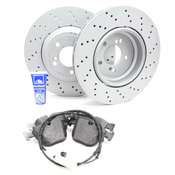 BMW Brake Kit Rear - E9XM3BRAKEKIT1