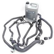 BMW Comprehensive Cooling System Hose Kit (E46) - 11531436408KIT