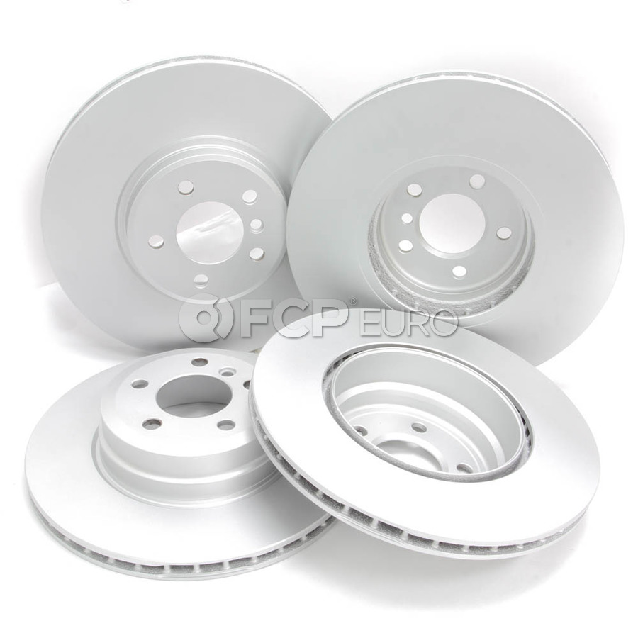 BMW Brake Kit - Zimmermann/Akebono 34116793243KTFR