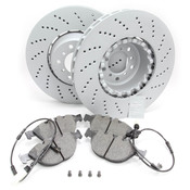 BMW Brake Kit - Zimmermann/Textar 34112282805KTF2