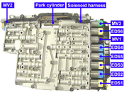 Mechatronic Solenoid Kit (6HP19 6HP26 6HP32) - ZF 1068298043