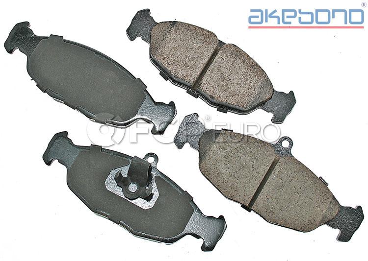 Jaguar Brake Pad Set - Akebono JLM21918