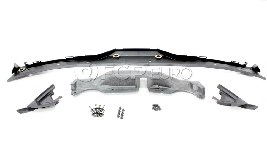 BMW Windshield Cowl Cover Kit (E39 525i 528i) - 51718159292KIT2