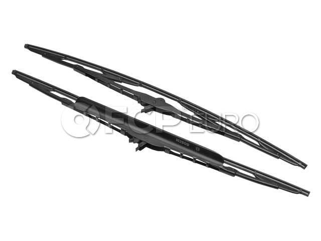 Porsche Windshield Wiper Blade Set - Valeo 99662890108