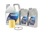 BMW 5W30 Oil Change Kit - Pensotin 11427854445KT4