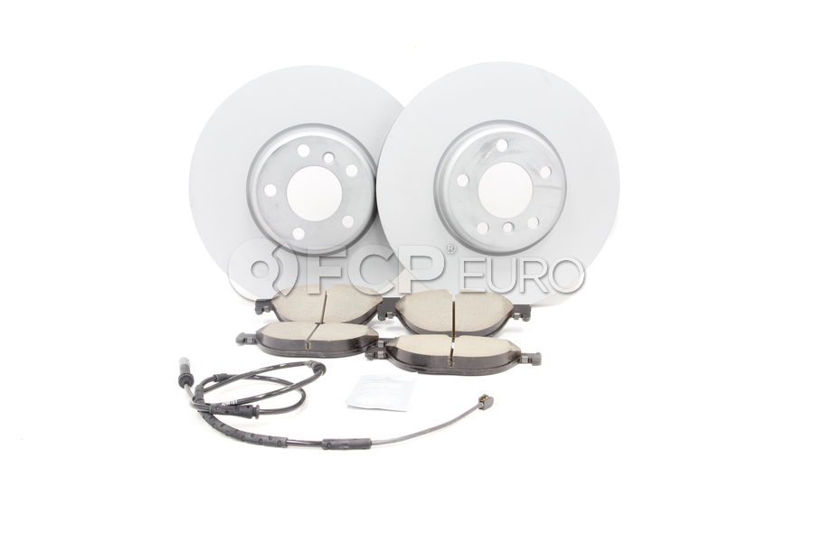 BMW Brake Kit - Zimmermann/Akebono 34116785669KTF3
