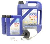 Mercedes Oil Change Kit 5W-40 - Liqui Moly 2761800009.7L