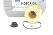 BMW Oil Change Kit 5W-30 - Liqui Moly 11427640862KT1.LM