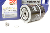 VW Audi Oil Change Kit 5W-40 - Liqui Moly KIT-078115561J.7L