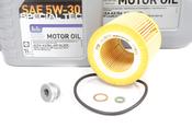 BMW Oil Change Kit 5W-30 - Liqui Moly 11427854445KT.LM