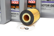 BMW Oil Change Kit 5W-30 - Liqui Moly 11427511161KT2.LM