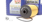 VW Audi Oil Change Kit 5W-40 - Liqui Moly KIT-03H115562.6L