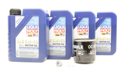 VW Audi Oil Change Kit 5W-40 - Liqui Moly KIT-04E115561H.4L