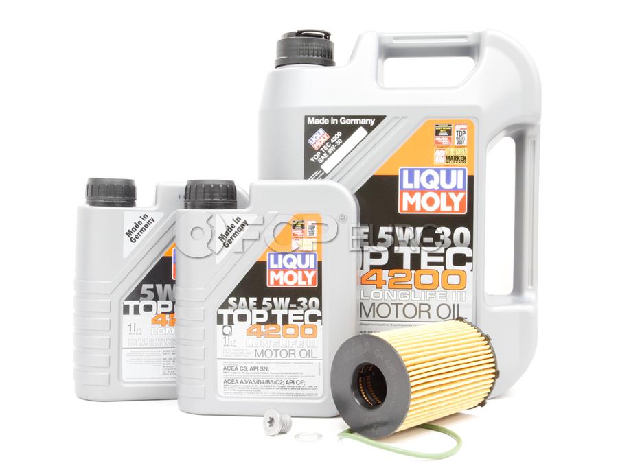 VW Audi Diesel Oil Change Kit 5W-30 - Liqui Moly KIT-95810722220.7L