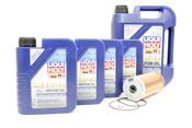 Mercedes Oil Change Kit 5W-40 - Liqui Moly KIT-515669