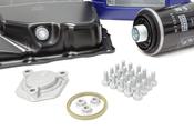 Audi VW Oil Pan Kit with Oil - Vaico / Liqui Moly 06J103600AFKT2