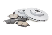 Audi VW Brake Kit - Zimmermann KIT-524566