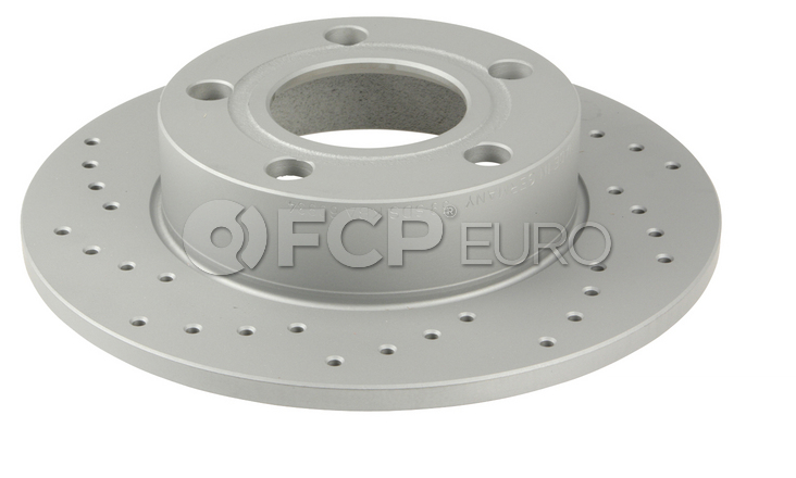 Audi VW Brake Disc - Zimmermann Sport 8D0615601A