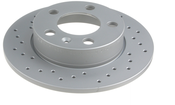 Audi VW Brake Disc - Zimmermann 1J0615601P