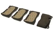 Audi VW Disc Brake Pad Set - Textar 8J0698151K