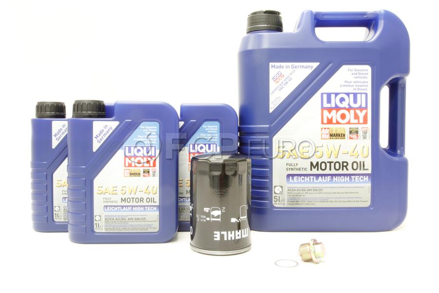 Porsche Oil Change Kit 5W-40 - Liqui Moly KIT-524665