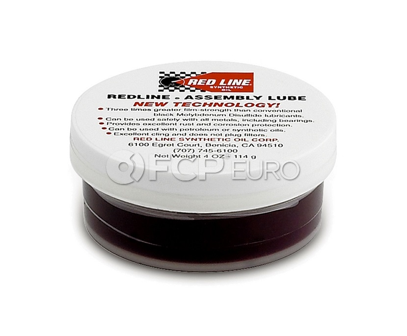 Assembly Lubricant (4 oz) - Red Line 80312