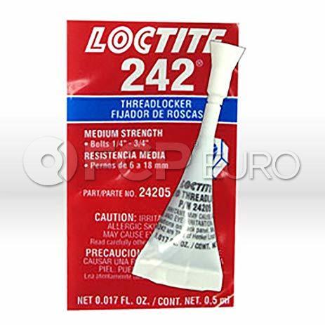 Blue Thread Locker 242 (0.5 ml) - Loctite 24205
