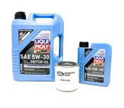 Land Rover Oil Change Kit 5W30 - Liqui Moly KIT-536242