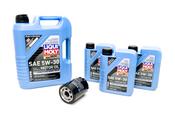 Land Rover Oil Change Kit 5W30 - Liqui Moly KIT-536246