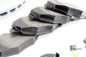 Mercedes Brake Kit - Zimmermann 516502