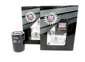 Porsche Engine Oil Change Kit (20W50) - Liqui Moly/Mahle 539009KT