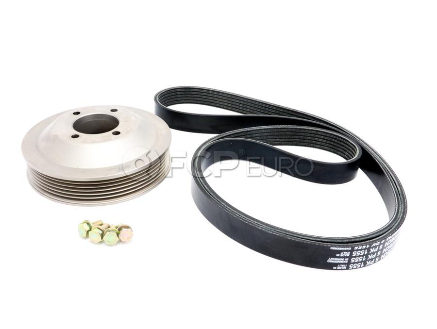 BMW Aluminum Water Pump Pulley Kit - Rein PKW0001