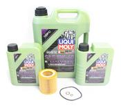 BMW 5W40 Oil Change Kit - Liqui Moly Molygen 11427854445KT5