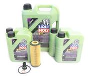 Mercedes Oil Change Kit 5W-40 - Liqui Moly Molygen 2781800009.9L
