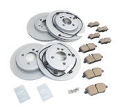 Mini Brake Kit - Zimmermann/Akebono 34116858651KTFR1