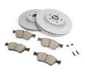 Mercede Brake Kit - Akebono 1645401017