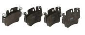 Porsche Brake Pad Set - TRW GDB1817
