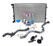 VW Cooling System Kit - Nissens KIT-1J0121253ADKT4