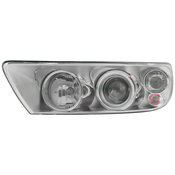 VW Headlight Assembly - Valeo 7L6941018BK