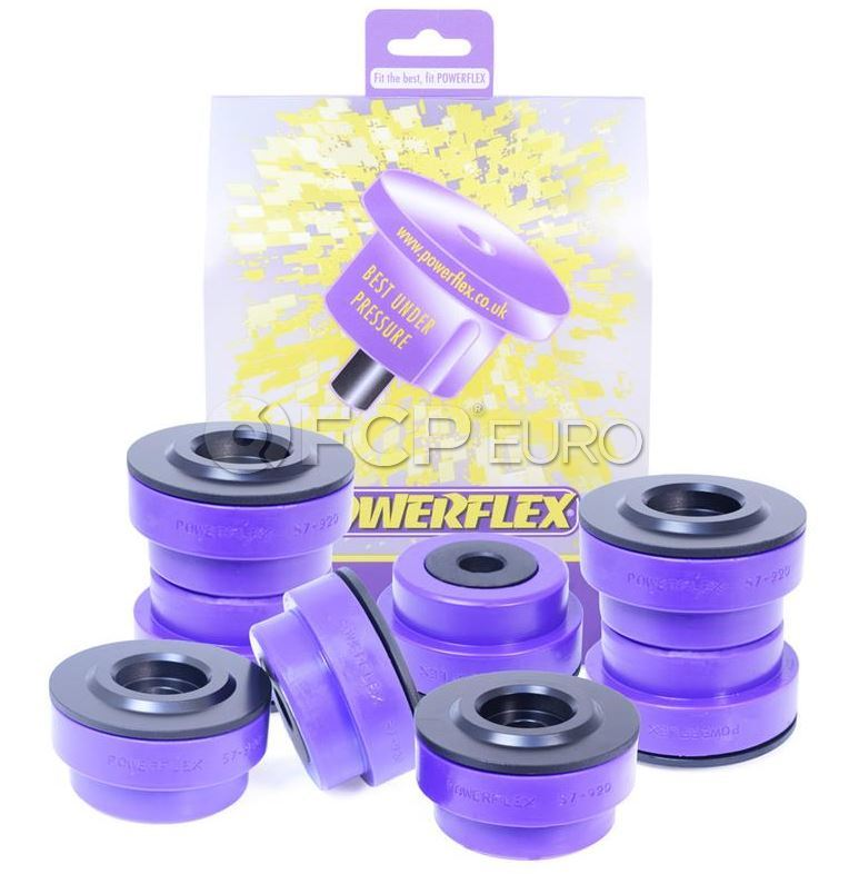 Porsche Subframe Bushing Set - Powerflex PFR57-920