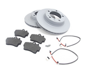 Porsche Brake Kit - Zimmermann/Textar 538461