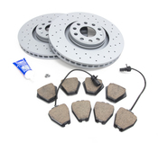 Audi VW Brake Kit - Zimmermann Sport/Akebono 8E0615301ADKT